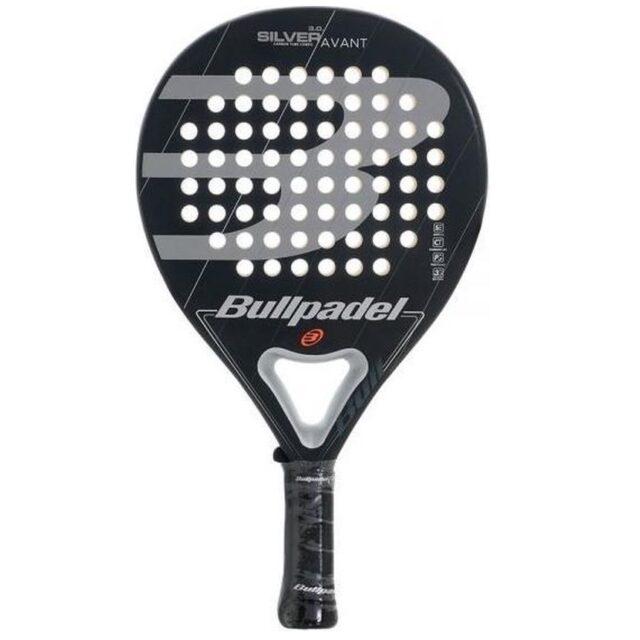 bullpadel racket silver