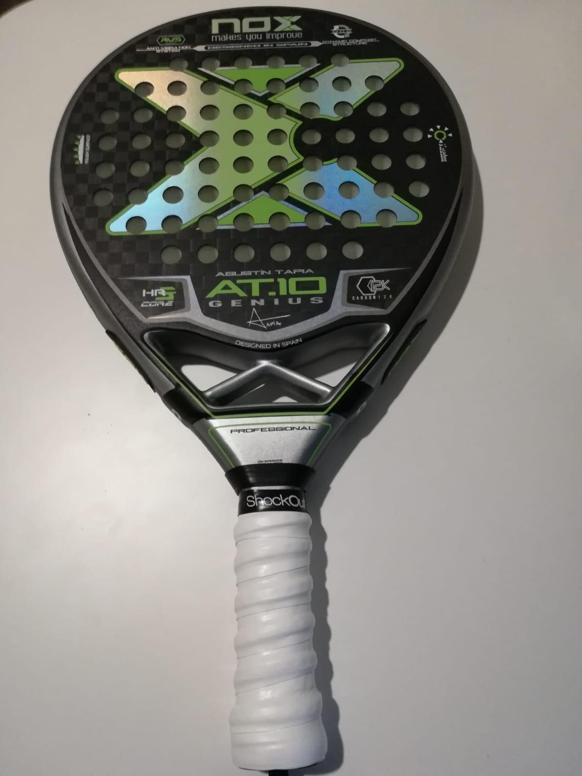 shockout grip nox padel racket